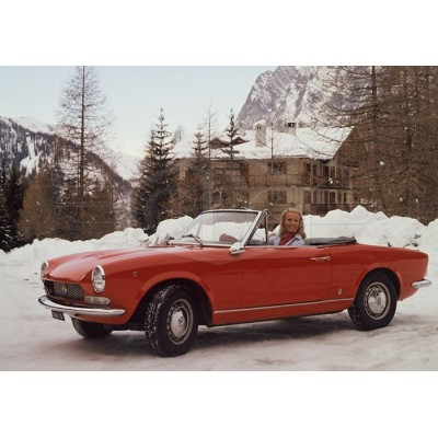 Fiat 124 Spider bumpers
