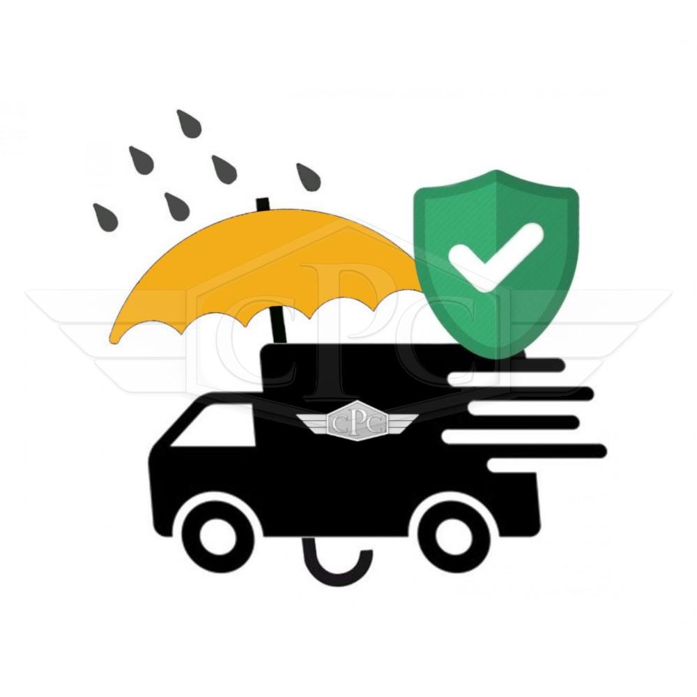 Optional Ad Valorem transport insurance.