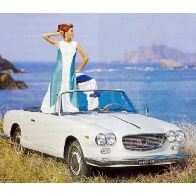 Lancia Flavia Vignale pare-chocs