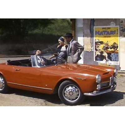 Alfa Roméo 2600 Touring Spider paraurti