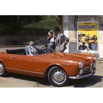 Alfa Romeo 2600 Touring Spider pare-chocs