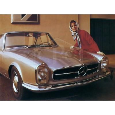 Mercedes W113 Pagoda bumpers