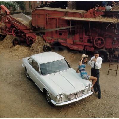 Lancia Flavia Pininfarina coupé pare-chocs