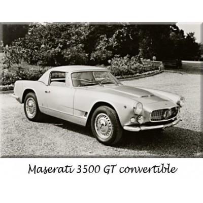 Paraurti, Maserati, auto d'epoca, sostituzione, cromo, acciaio inossidabile, riprodizione, ricambi, inox, Touring, Frua