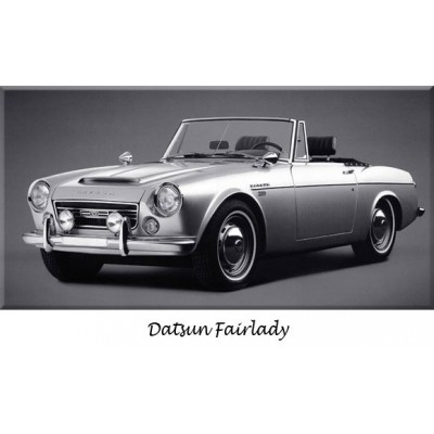 Pare-chocs Datsun, collection, refabrication, inox, chrome, remplacement, butoirs, parechoc