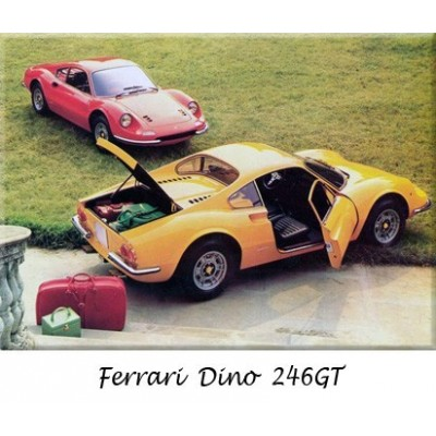 Ferrari, bumpers, Dino, classic cars, replacement, chrome,  stainless steel, original, overriders