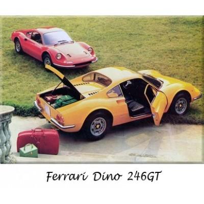 Paraurti, Ferrari, Dino, auto d'epoca, sostituzione, cromo, acciaio inossidabile, riprodizione, ricambi, inox