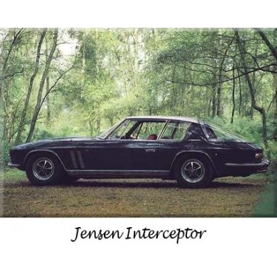 Pare-chocs, Jensen Interceptor, collection, refabrication, inox, chrome, remplacement, butoirs, parechoc