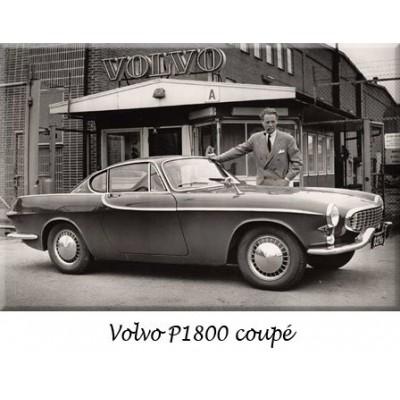 Paraurti, Volvo, Volvo P1800, auto d'epoca, sostituzione, cromo, acciaio inossidabile, riprodizione, ricambi, inox