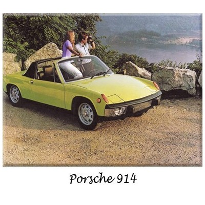 Porsche 914, Bumpers, classic cars, replacement, chrome,  stainless steel, original, overriders
