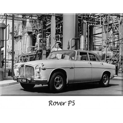 Pare-chocs, Rover P5, collection, refabrication, inox, chrome, remplacement, butoirs, parechoc