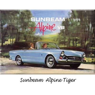 Pare-chocs, Sunbeam, Alpine, Tiger, collection, refabrication, inox, chrome, remplacement, butoirs, parechoc