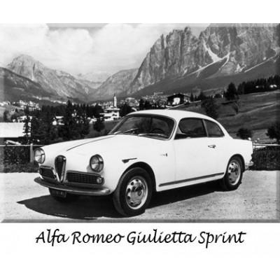 Paraurti, Alfa Romeo, Giulia, Giulietta, Duetto, Sostituzione, ricambi, cromo, acciaio inossidabile, riproduzione, auto d'epoca