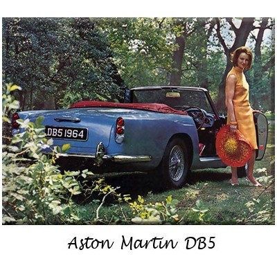 Aston Martin, bumpers, DB5, DB6, DBS, classic cars, replacement, chrome,  stainless steel, original, overriders
